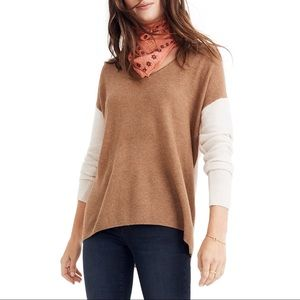 MADEWELL Kimball Color Block Pullover Sweater